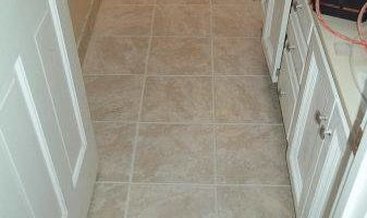 C & C Construction - Tile Kings. Any BathRoom Floor Tiled - $450