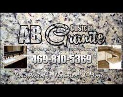 Granite countertops and vanities