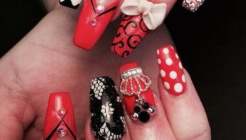 $20 Diva Nails by Candela/ 3D/ WAX /MAKE-UP SERVICES