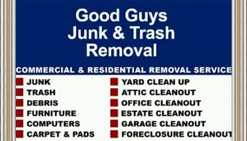 GOOD GUY,trash,junk,labor,hot tub,delivery,furniture,dehauling,removal