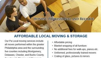 Professional Movers-Local and long distance