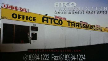 ATCO Transmission Centers- Complete Automotive Repair Service