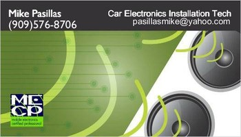 Car Electronics Installs - Alarms, Amplifiers, Stereos and more...