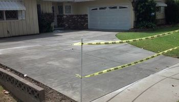 Driveways / steps / patios / Concrete set up & finish