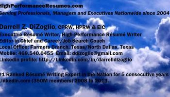 THIS CERTIFIED PROFESSIONAL RESUME WRITER = LOTS MORE INTERVIEWS