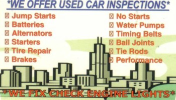 Mobile Auto Repairs. We come to you –  FREE...