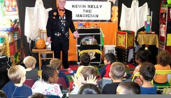 Halloween Magic Show by Kevin Kelly the Magician