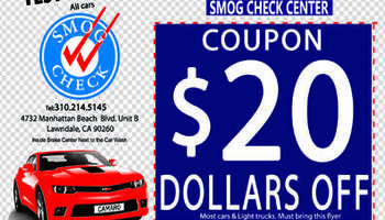 $29!!! SMOG CHECK STAR STATION $29!!! CLEAN AIR IS GOOD FOR...