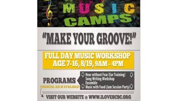 """SCBC Summer Music Workshop """"Make Your Groove!"""""""