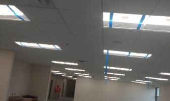 Drop ceiling and tile