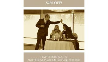 Wedding photographer videographer - Platinum Package $500