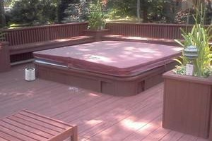 Deck refinishing and Powerwashing.