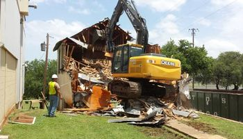 Demolition Services - all types of demo and removal. Maynard Construction Services