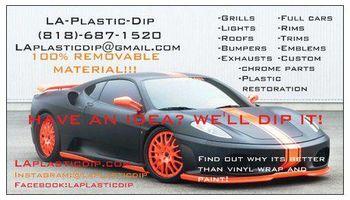 LA's Professional PLASTI DIP + COLLISION REPAIR !!!!!