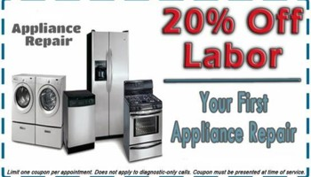 APPLIANCE REPAIR - SAN FRANCISCO , PENINSULA