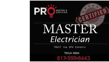 Master Electrician - Any electrical problem solved!