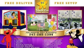 PARTY RENTALS & EVENT PLANNING SERVICES
