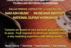 Private Guitar Lessons from Industry Professional