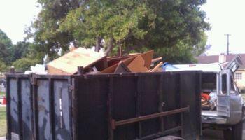Hauling trash removal