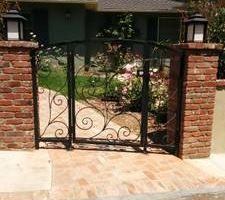 Custom iron work.