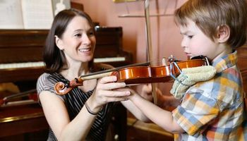 Suzuki Violin Lessons with Patient and Talented Teacher