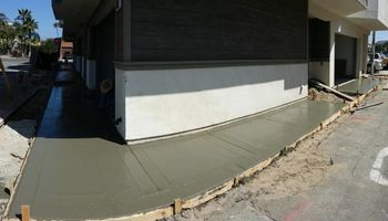 CUSTOM CONCRETE, BLOCK WALLS, DEMO & GRADING