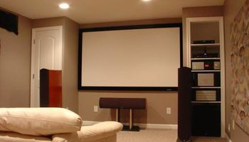 WALL MOUNT TV 3D 4K HOME AUDIO INSTALLATION