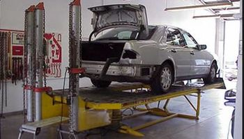 Auto body paint & Frame work ( chassis straightening)