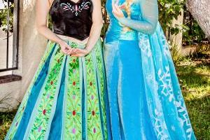 Princess characters for kids parties