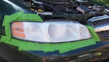 Professional Headlight Restoration for LESS!