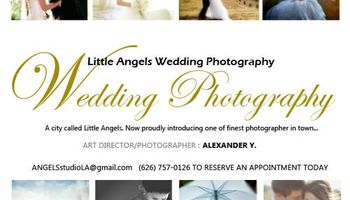 Little Angels Photo Studio. WEDDING PHOTOGRAPHER
