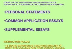 Princeton English Ph.D. offering help with college app. essays.