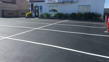 Asphalt Repairs/ Sealcoating/ Line Striping. Licensed.