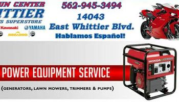 Honda Generator - Lawn Mower - Pumps - Tillers - Trimmers Service