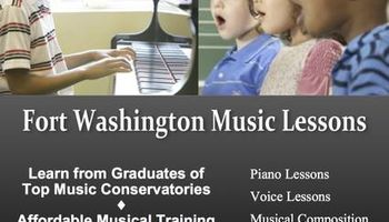 FORT WASHINGTON MUSIC LESSONS - Piano & Voice Lessons