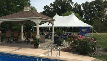 20 x 30 White Pole Tent & More!