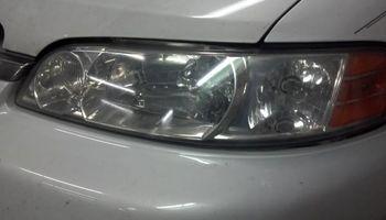Headlamp Lens refinishing and polishing