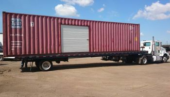 We Deliver & Transport 40ft. Storage Containers
