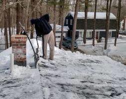 S-N-S Handyman Service. Roof shoveling