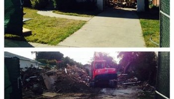 TRACTOR WORK - TRENCHING, LEVELING, DEMOLITION