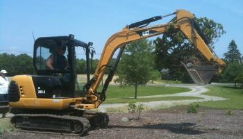 Excavator & operator for hire. Landscaping, Grading and more...