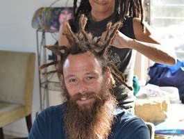 All-Natural Dreadlocks TER VEINIC LA DREADS (Thai Crochet-Hook Method)