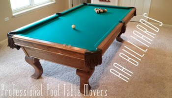 AA BILLIARDS. Professional Pool Table Movers - Skill and a Lot of Muscle