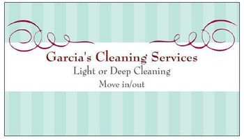 GARCIA'S CLEANING SERVICES