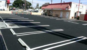 Asphalt paving (PARKING LOTS , DRIVE WAYS)