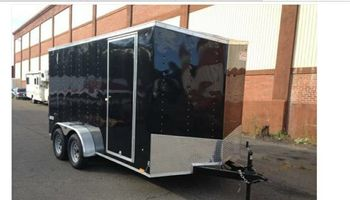Bike tow ENCLOSED trailer SAFE TOW