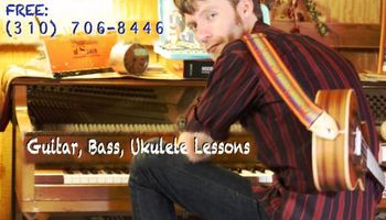 Guitar, Ukulele, and Bass Lessons