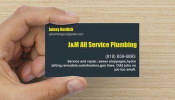 J & M All Service Plumbing