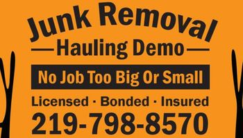 Junk removal clean outs demo team