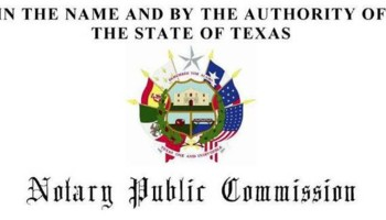 Notary Public in Irving TX